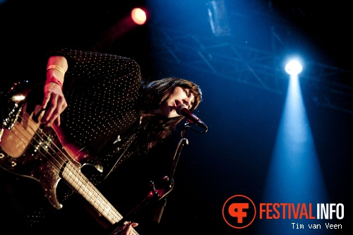 Foto Band of Skulls op Dauwpop 2012