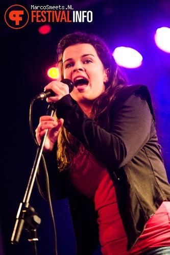 Anny op Klomppop 2012 foto