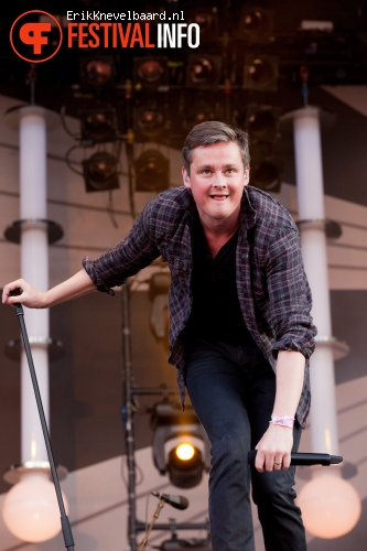 Keane op Pinkpop 2012 - Zondag foto