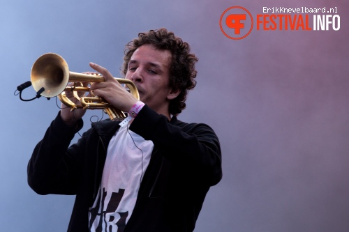 The Kyteman Orchestra op Pinkpop 2012 - Zondag foto