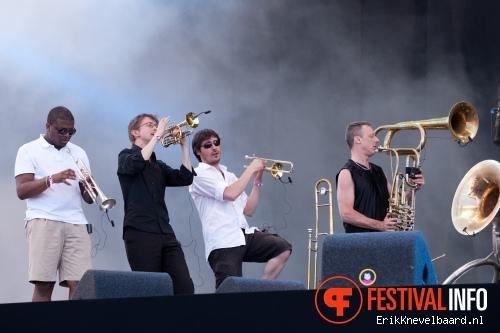 Foto The Kyteman Orchestra op Pinkpop 2012 - Zondag