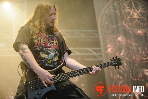 Meshuggah op Fortarock 2012 foto