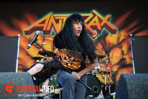 Anthrax op Fortarock 2012 foto