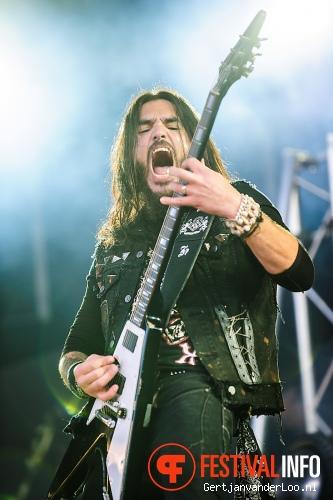 Machine Head op Fortarock 2012 foto