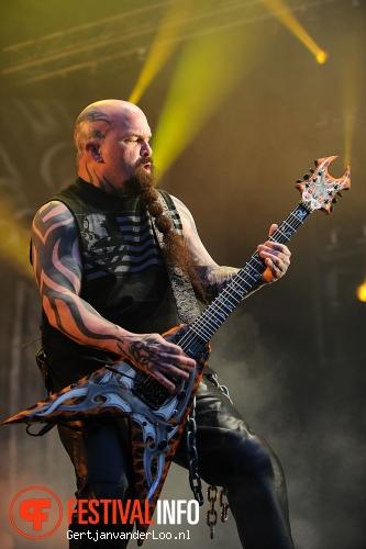 Slayer op Fortarock 2012 foto