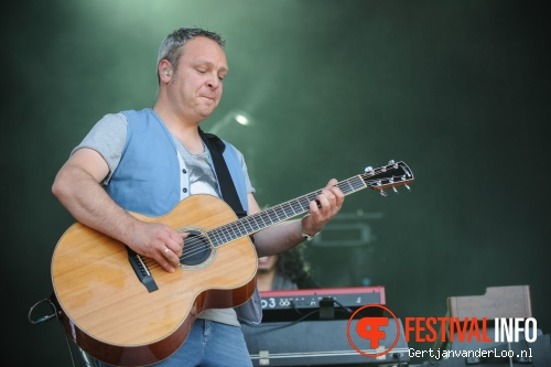 Racoon op Indian Summer 2012 foto
