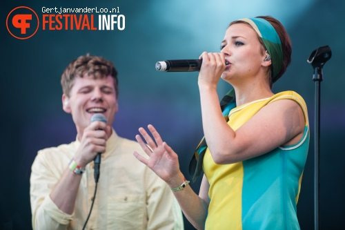 Alphabeat op Indian Summer 2012 foto