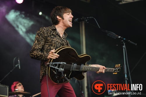 Miles Kane op Indian Summer 2012 foto