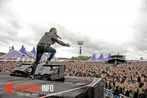 Foto Killswitch Engage op Graspop Metal Meeting 2012