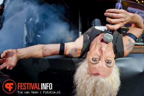 Foto Twisted Sister op Graspop Metal Meeting 2012
