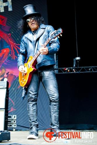Slash op Graspop Metal Meeting 2012 foto
