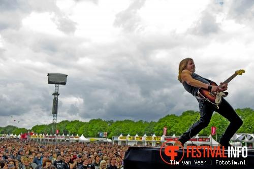 Foto Tracer op Graspop Metal Meeting 2012