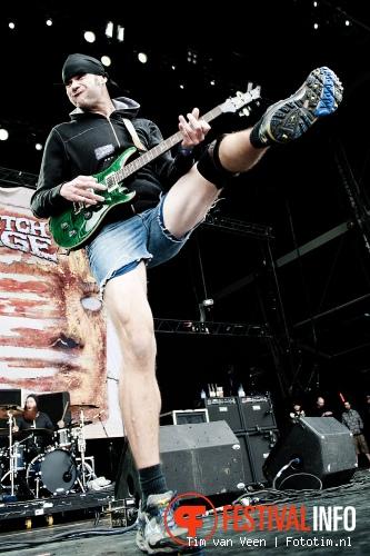 Foto Killswitch Engage op Graspop Metal Meeting 2012