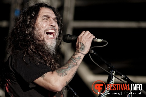 Foto Slayer op Graspop Metal Meeting 2012