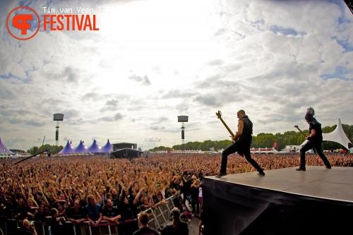 Trivium op Graspop Metal Meeting 2012 foto