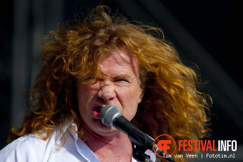 Foto Megadeth op Graspop Metal Meeting 2012
