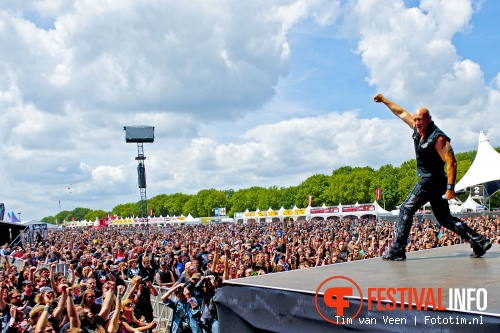 Foto Primal Fear op Graspop Metal Meeting 2012