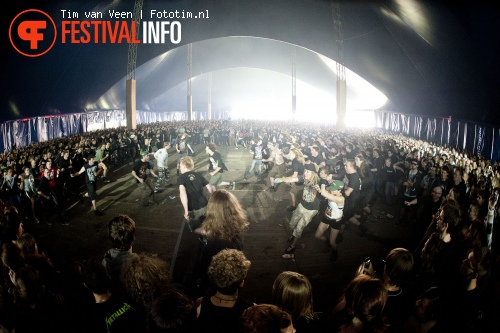 Foto Unearth op Graspop Metal Meeting 2012