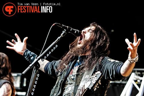 Foto Machine Head op Graspop Metal Meeting 2012