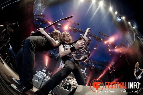 Death Angel op Graspop Metal Meeting 2012 foto