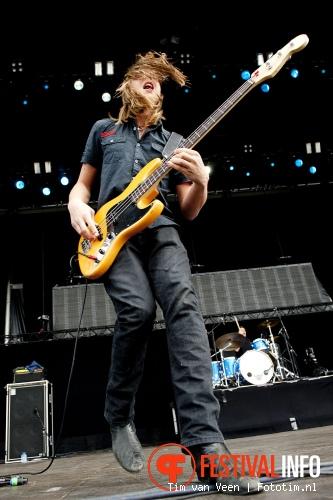 Tracer op Graspop Metal Meeting 2012 foto