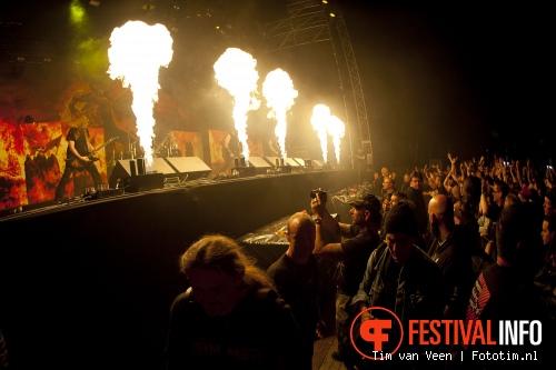Amon Amarth op Graspop Metal Meeting 2012 foto