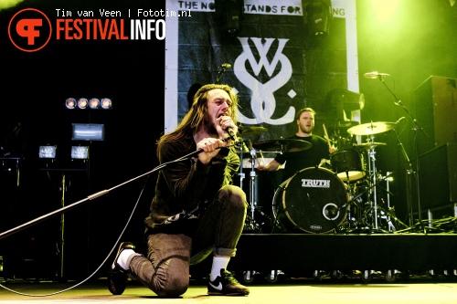 While She Sleeps op Graspop Metal Meeting 2012 foto
