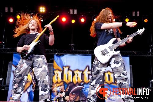 Sabaton op Graspop Metal Meeting 2012 foto