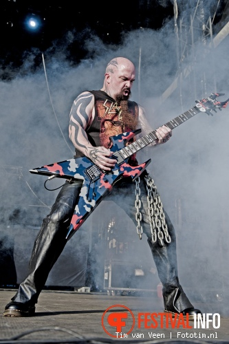 Slayer op Graspop Metal Meeting 2012 foto