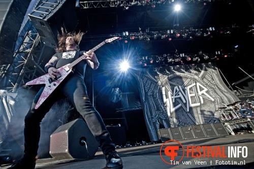 Foto Slayer op Graspop Metal Meeting 2012
