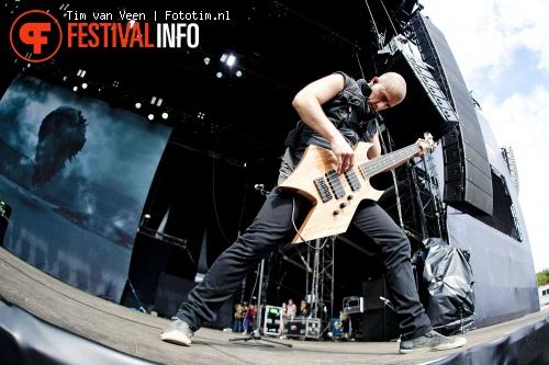 Foto Trivium op Graspop Metal Meeting 2012