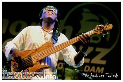 Foto Richard Bona op North Sea Jazz 2006
