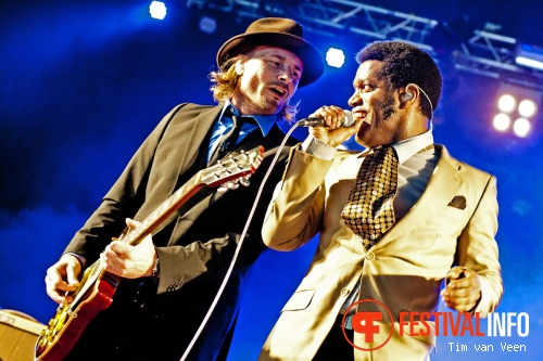 Vintage Trouble op Festival deBeschaving 2012 foto