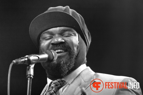Gregory Porter op North Sea Jazz 2012 dag 1 foto