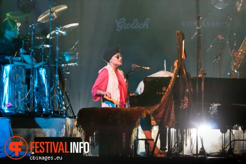 Melody Gardot op North Sea Jazz 2012 dag 1 foto