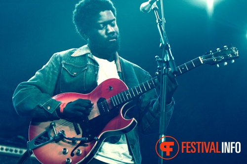 Michael Kiwanuka op North Sea Jazz 2012 dag 1 foto