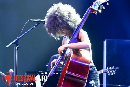 Esperanza Spalding op North Sea Jazz 2012 dag 2 foto