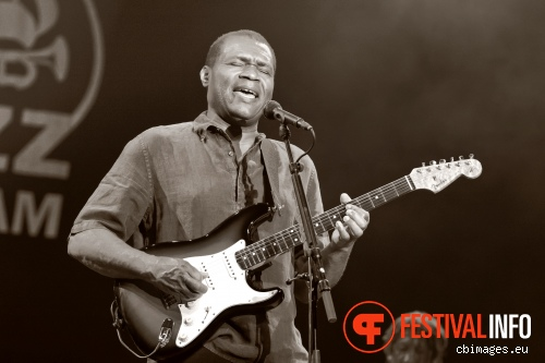Foto Robert Cray op North Sea Jazz 2012 dag 2