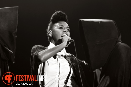 Janelle Monae op North Sea Jazz 2012 dag 3 foto