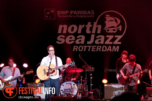 Foto Amos Lee op North Sea Jazz 2012 dag 3