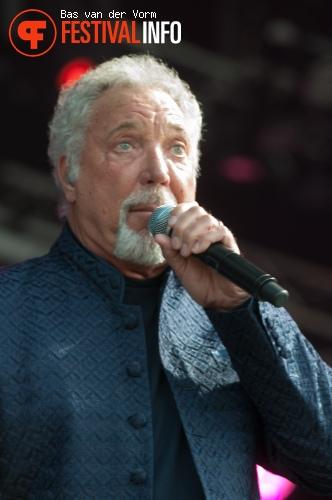 Tom Jones op Bospop 2012 foto