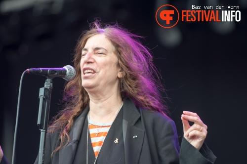 Patti Smith op Bospop 2012 foto