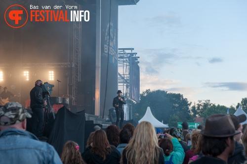 Gavin DeGraw op Bospop 2012 foto