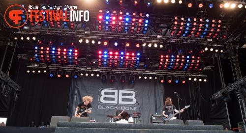 Black-Bone op Bospop 2012 foto