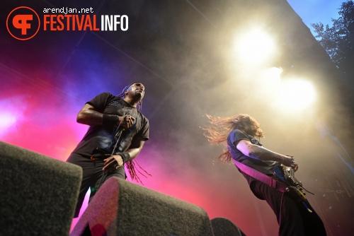 Sepultura op Werfpop 2012 foto