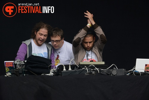 Bomb Diggy Crew op Werfpop 2012 foto