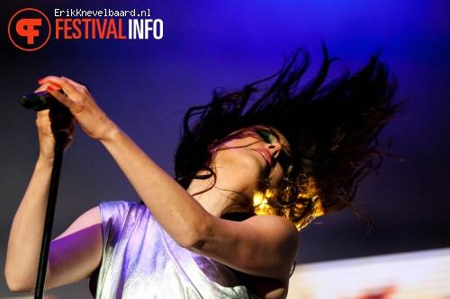 Within Temptation op Zwarte Cross 2012 foto