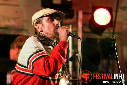 The Backcorner Boogieband op Zwarte Cross 2012 foto