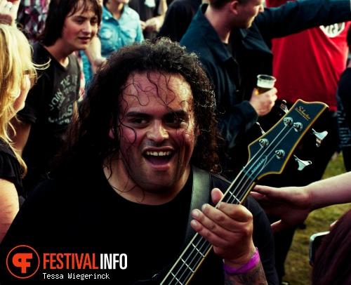 Death By Stereo op Geuzenpop 2012 foto