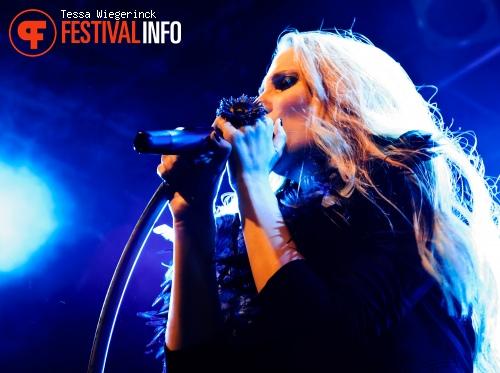Epica op Geuzenpop 2012 foto